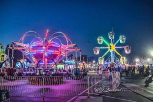 fair, food, games, rides, activities