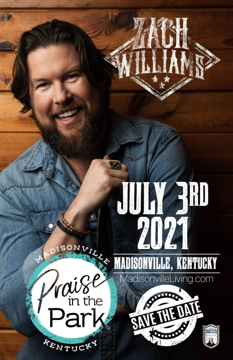 Zach Williams | Madisonville KY Praise in the Park
